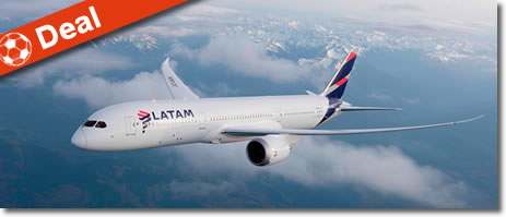 air tickets discount from europe to latam
